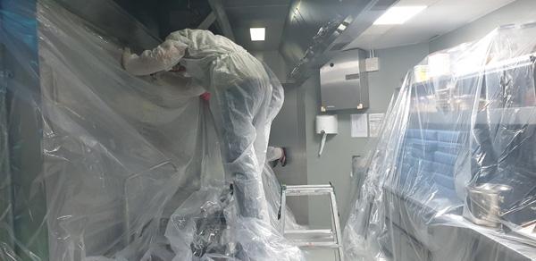 quy trình vệ sinh ống khói